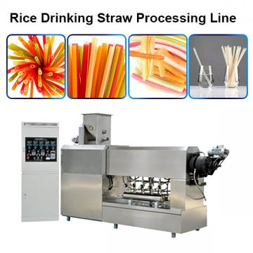Rice Drinking Straw Making Extruder Machine / Sustainable Eco Friendly Products Processing ...
