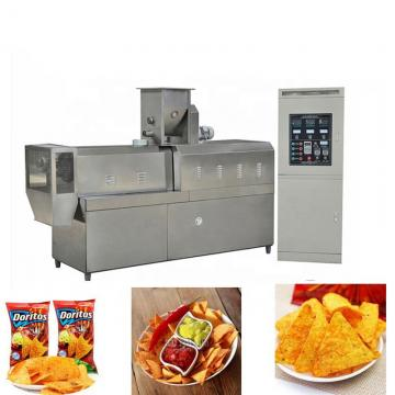 Continuous Fryer Tortilla Corn Chips Processing Line Making Machine